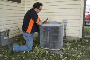 Replacing a broken air conditioner