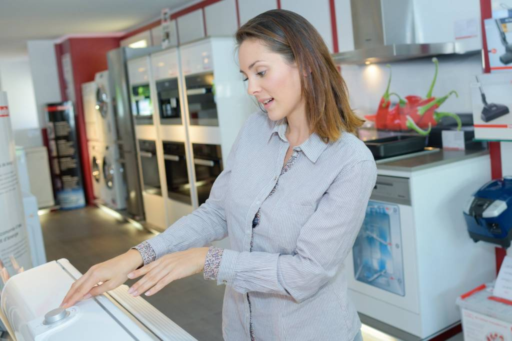 Extended warranties are offered when buying an appliance