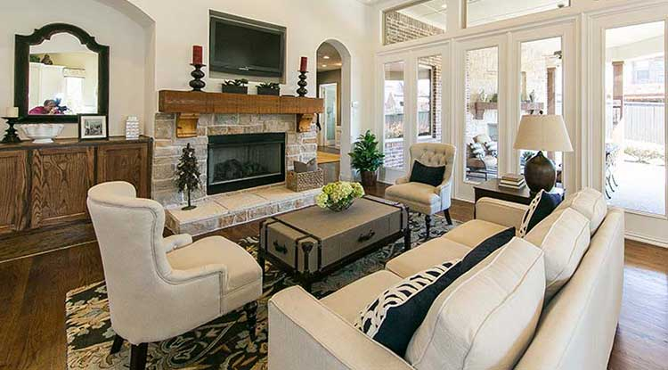 Home warranty Texas protected living room