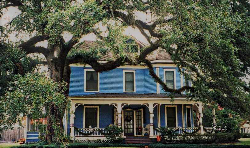Louisiana home front porch