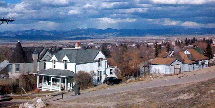 montana homes in valley